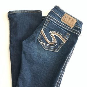 SILVER Tuesday Bootcut Jeans Size 27